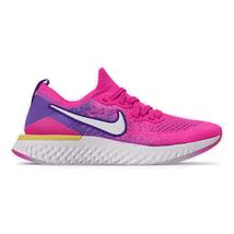 Women's Nike Epic React Flyknit 2 Running Shoes Laser Fuchsia/White/Yell... - $207.84