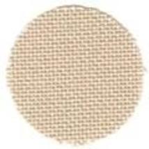 FABRIC CUT 28ct mushroom lugana 9x55 cut for Summer Schoolhouse series  - $13.00