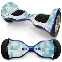 Tiles Shape overboard hoverboard 10 inch decal skin - $30.00