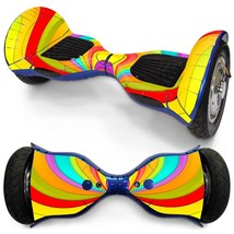 Rainbow Color overboard hoverboard 10 inch decal skin - $30.00