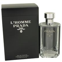 Prada L'Homme Prada 3.4 Oz Eau De Toilette Cologne Spray image 5