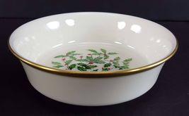 "LENOX China Holiday Dimension 4 Fruit/Dessert (Sauce) Bowl 5-3/8"" Dinnerware image 4"