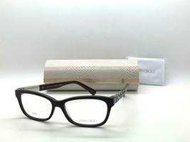 Jimmy Choo Eyeglasses Jc 110 3LB Burgundy 53-15-135MM Italy Case& Cloth - $77.15