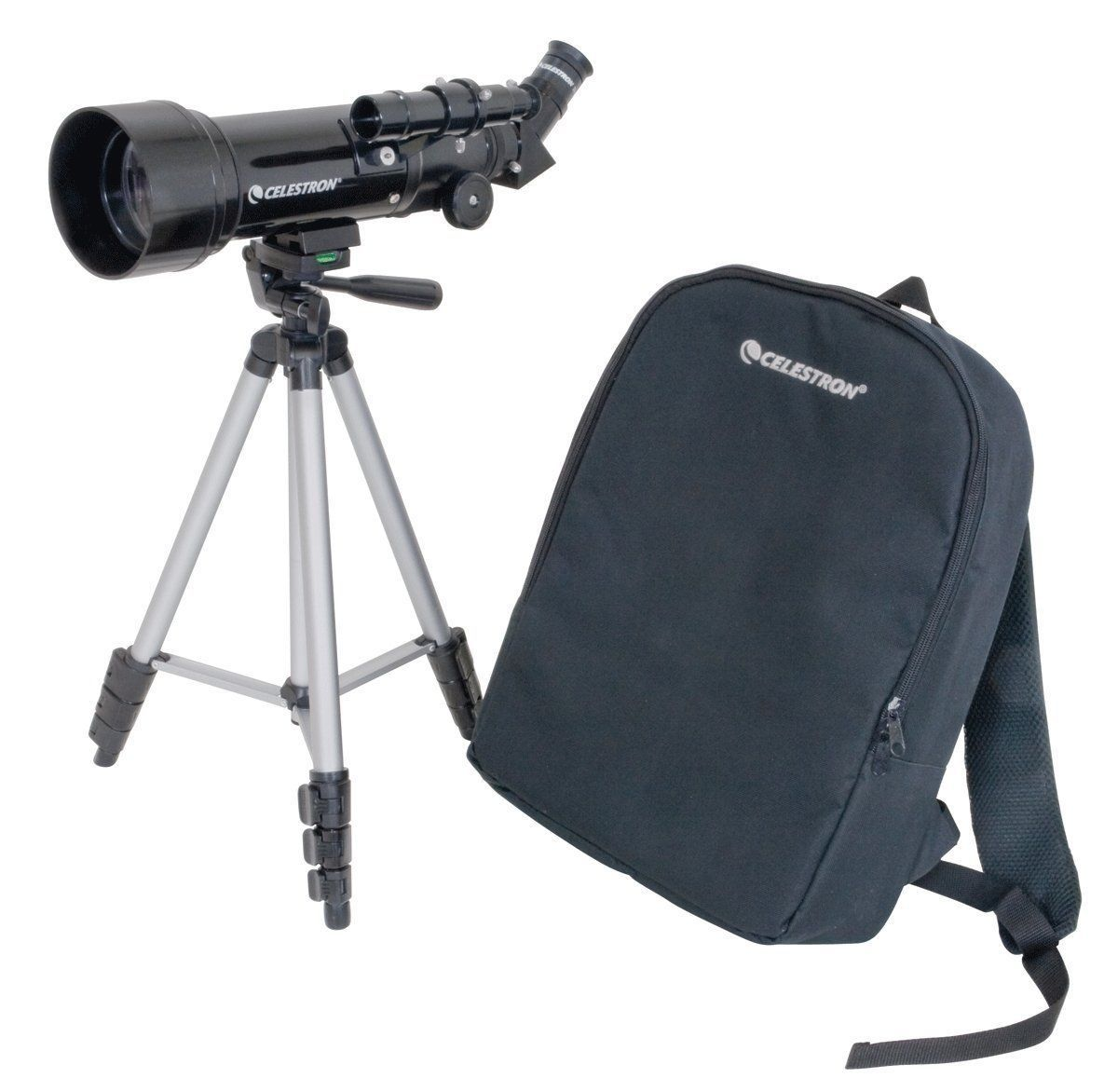 70mm Travel Scope Telescope Tripod Backpack Outdoor Camping Hiking Stargazing
