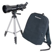 70mm Travel Scope Telescope Tripod Backpack Outdoor Camping Hiking Starg... - $103.55 CAD