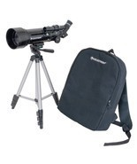 70mm Travel Scope Telescope Tripod Backpack Outdoor Camping Hiking Starg... - £78.14 GBP