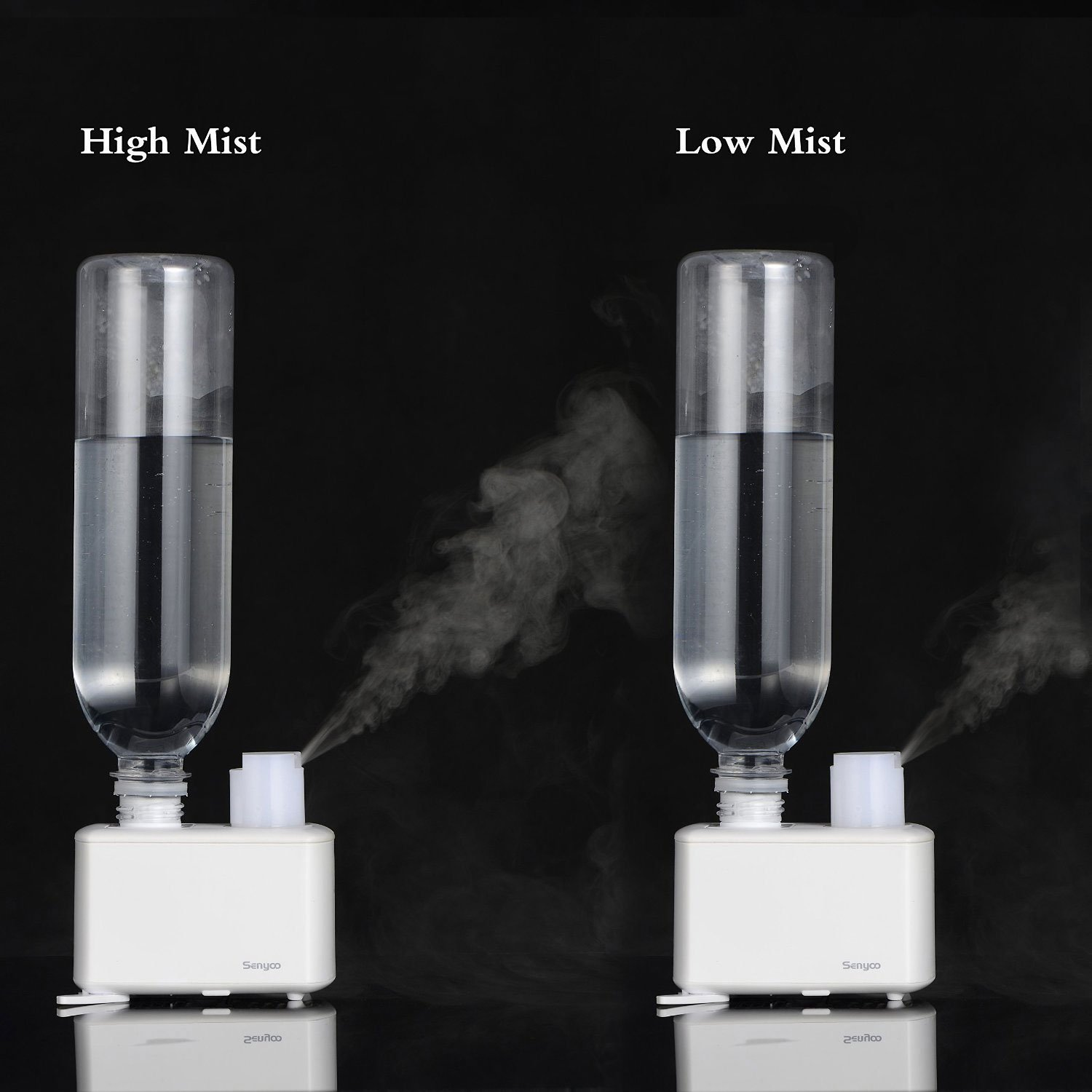 Humidifier Ultrasonic Cool Mist Essential Oil Aromatherapy Diffuser  #5F646C