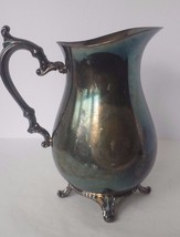Wm Rogers Silverplate Pitcher Ice Lip - $18.68