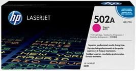 HP 502A | Q6473A | Toner Cartridge | Magenta | ~4,000 pages - $37.21