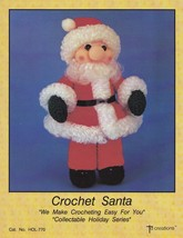 Santa, Christmas Doll Td Creations Crochet Pattern Booklet HOL-770 - $6.75