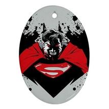Oval Ornaments - Batman Vs Superman Procelain O... - $3.99