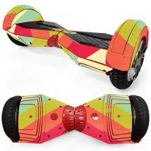 Poly Color Bar overboard hoverboard 8 inch decal skin - $25.00