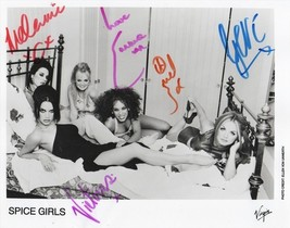 Spice Girls Full Group Signed Photo 8X10 Rp Autographed All Members !! - $19.99