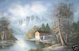 A Mill in the Mountains By H. Wilson - $550.00
