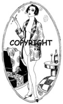 NAUGHTY FRENCH LADY ANGELIQUE new mounted rubber stamp - $8.50