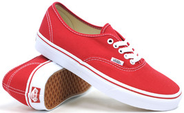 Vans Classic Unisex Authentic Skate Shoe Red - $45.00+