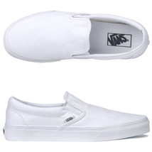 Vans Classic Unisex Slip On Casual Shoes True White - $50.00