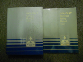1985 Mitsubishi Galant Service Repair Shop Manual Set 2 Vol Factory Oem Book 85 - $23.75