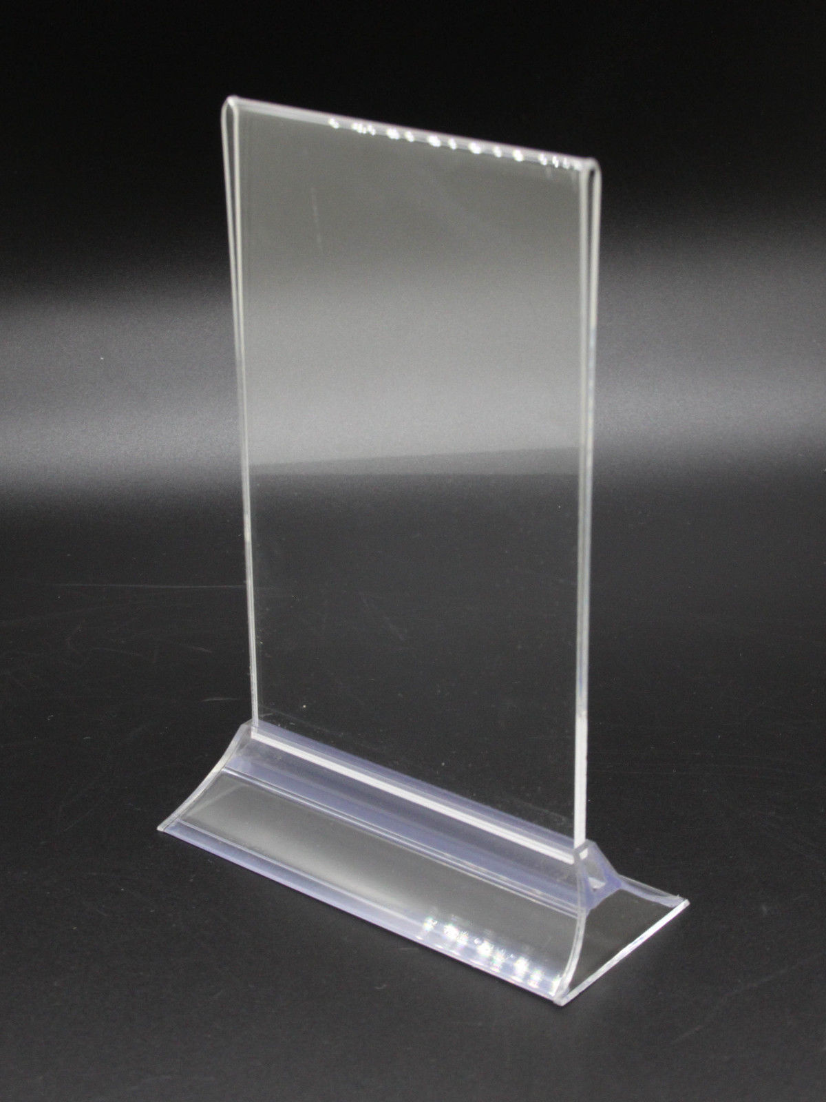 4x6 Clear Acrylic Sign Holder Menu Holder and 13 similar items