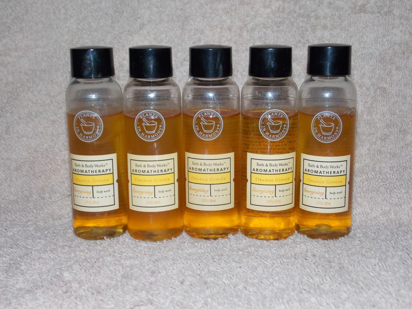 5 Bath Body Works Aromatherapy Choose Scent And 25 Similar Items Orange Ginger Wash 2 Oz 59ml New