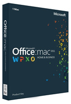 Microsoft Office for MAC 2011 - License for 1 MAC - $47.99