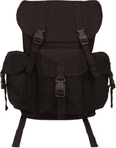 Black Canvas Outfitter Military Rucksack Backpack - $52.38