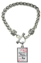Only the Best Moms Get Promoted to Gigi Silver Toggle Bracelet Jewelry G... - $13.80