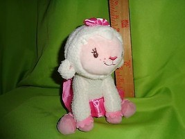 Disney Doc Mcstuffins Lamb Lambie Plush B EAN Ie Stuffed Animal Toy Doll - $11.38