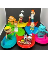 Lot of 8 Jetsons Movie 1990 Wendys Kids Meal Toys Applause George Elroy ... - $27.71