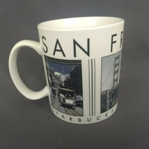 Starbucks Barista Mug San Francisco City Scenes Series 2003 18 oz Coffee Cup - $17.37