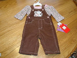 Baby Togs Kidswear  3-6M 3 piece set outfit months MO girls NEW NWT 26.0... - $12.86