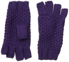 Collection XIIX Women's Seed Stitch Fingerless Glove, Purple Passage, On... - $19.66