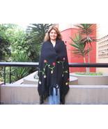 XL Shawl, soft alpaca wool wrap,outerwear - $136.00