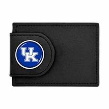 Kentucky Wildcats Mens Womens Unisex Black Leather Money Clip Wallet UK - $14.84