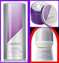 Womens Fragrance Set ODYSSEY ~NEW~ (Quantity of 1 Set-Talc, Roll On, Sof... - $10.87