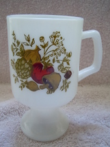 Vintage Mushroom Strawberry Onion Pedestal Mug  - $3.99