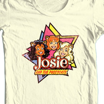 Josie and pussy cats retro cartoons natural t shirt thumb200
