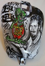 Motorcycle gas tank Decorated OOAK Big Daddy Ed Roth w Rat Fink HAND PAINTED