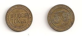 Collectible One Transit Token: Delaware River Joint Toll Commission Brid... - $3.42