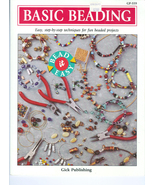 Basic Beading Step-By Step Techniques How To Book Booklet Pamphlet - $3.00