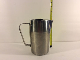Vintage Stainless Steel Water Pitcher With Ice ... - $29.02