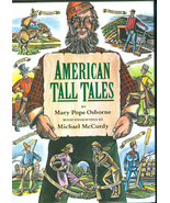 American Tall Tales Collection of American Folk Heroes Fiction Book Mary... - $11.99