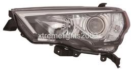 Toyota 4 Runner 2014 2016 Left Driver Black Headlight Head Lamp Front Light - $144.54