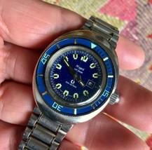 Phigied Caribbean divers automatic vintage 1960 ~ 70s 33mm watch boy's size - $848.42