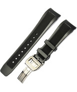 22mm. watch rubber band , strap + deploy clasp, for iwc  Aquatimer. Port... - $49.97