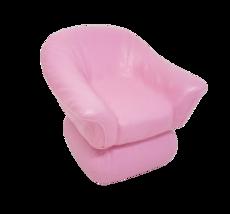 Vintage 1987 Mattel Arco Barbie Dream Home Pink Plastic Cozy Big Arm Chair - $14.03