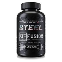 Steel Supplements ATP-Fusion Creatine Monohydrate Capsules Workout Suppl... - $28.66