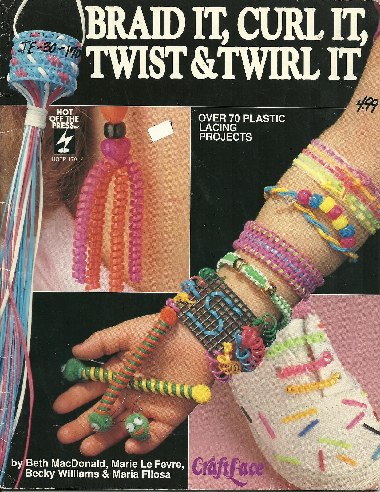 Braid it curl it twist   twirl it craft book hot off the press 170  1