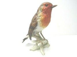 "Vintage Goebel Robin Figurine CV100 West Germany Label 5"" Bird Figure Co... - £22.89 GBP"