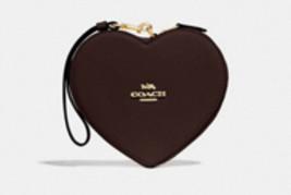 Coach Oxblood Heart Wristlet - NWT - Retails $228 - $55.00